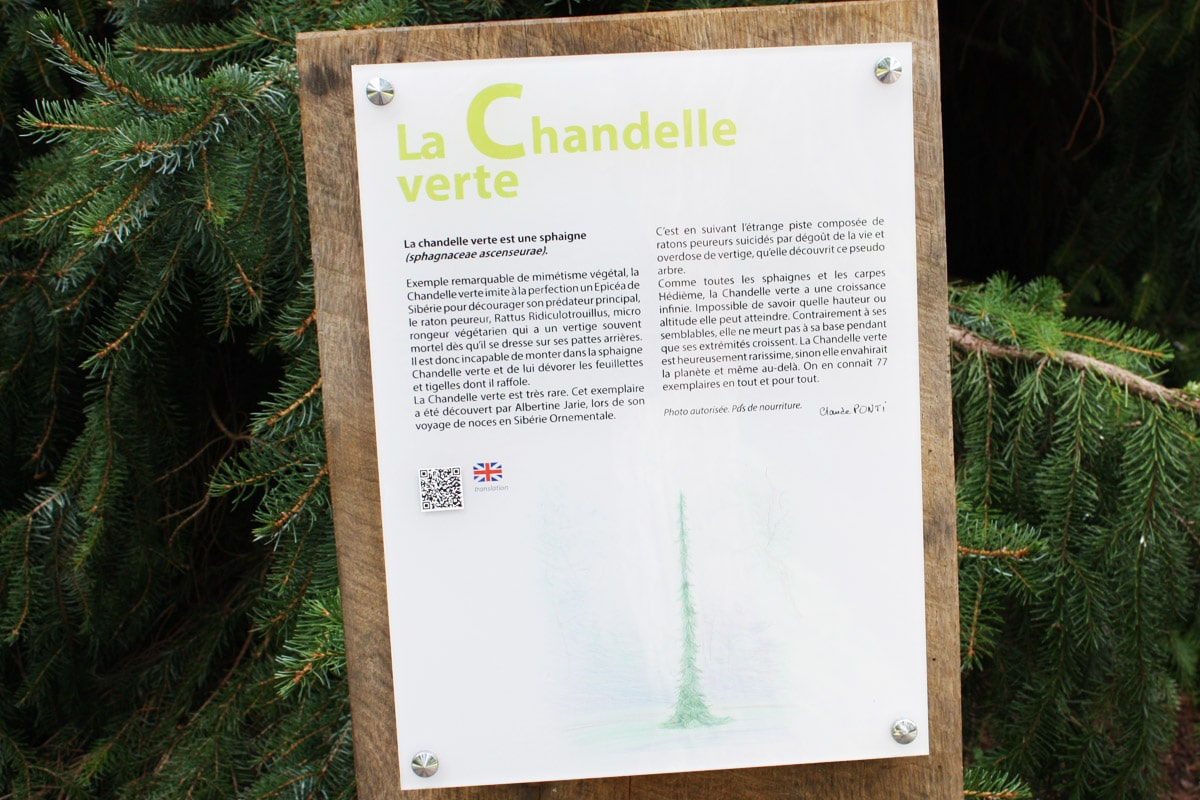 Explication de Claude Ponti sur La Chandelle