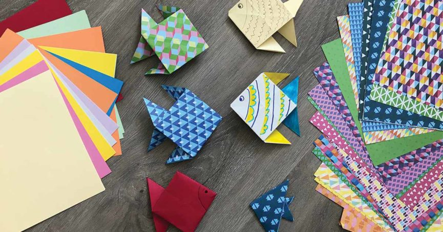 origami facile poisson