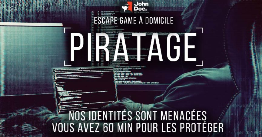 escape game à domicile enfant adolescent
